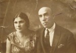 Sister of Mera Makarevich - Masha with husband Aaron. Both haven't evacuated and were killed during the  Holocaust.Photo was taken in 1933.