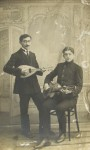 Brothers of Mera Abram-Itskovna Makarevich. Both were killed in action during WWII. Name of one of them was Vladimir.