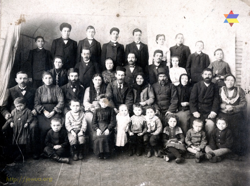 "Zbarskiy family in Priluki, 1905. Photo provided by Valeria Boguslavskaya for Centropa <a href=""http://www.centropa.org"">centropa.org</a>"