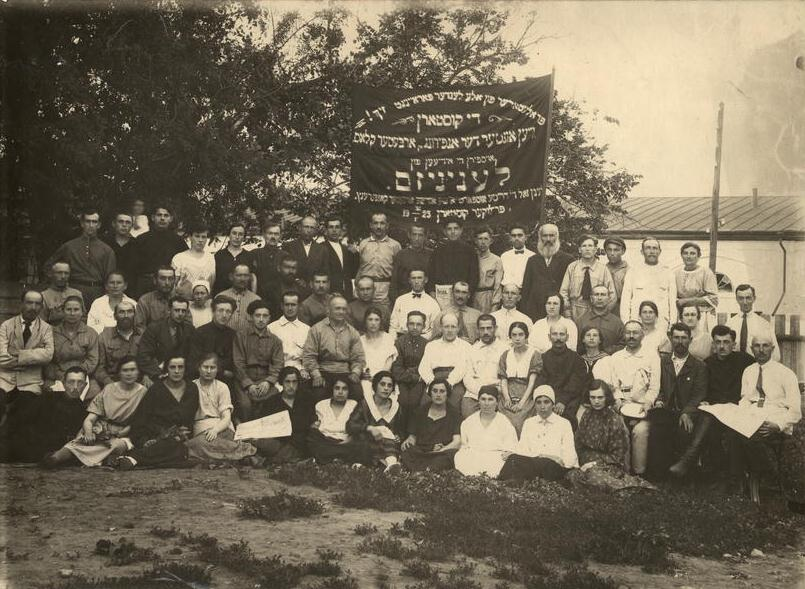 "Priluki artisans in 1925. Photo from <a title=""humus.livejournal.com"" href=""http://humus.livejournal.com/2087632.html?view=50197200#t50197200"">humus.livejournal.com</a>"