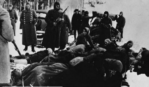 Jews before killing. ChernigovJews before killing. Chernigov