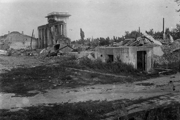 Chrnigov reilway station after liberation in 1943