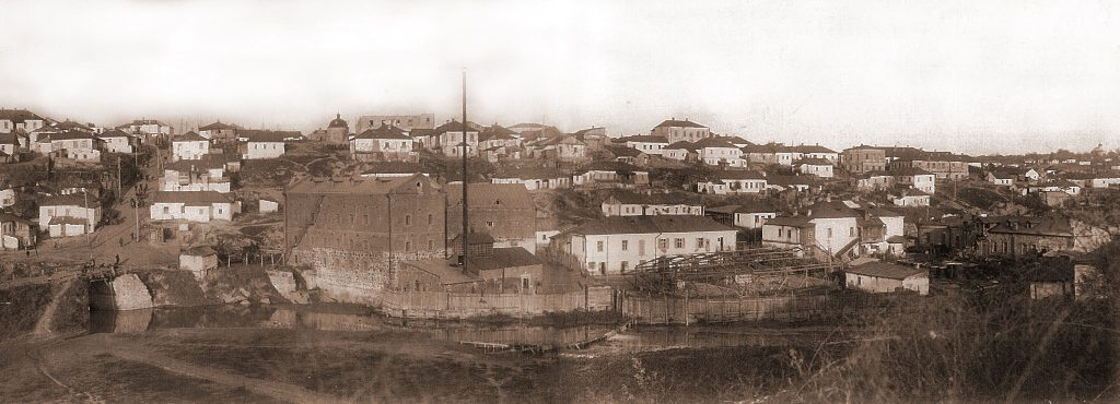 Panorama of Uman, beginning of XX century