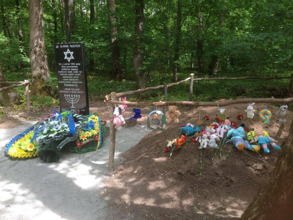 Monument on children's mass grave was open in 2017 for cost of Netherland christian organisation