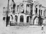 Ruins of jewish building after Denikin's pogrom