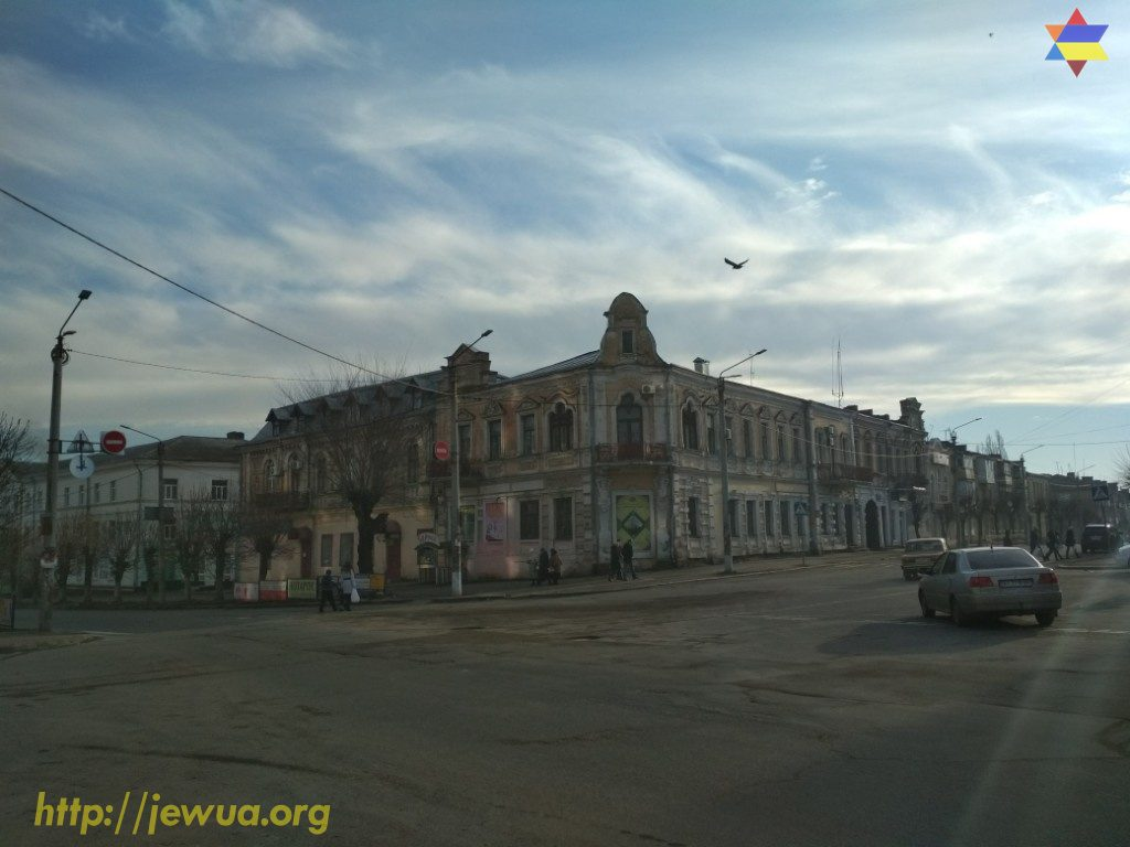 PreRevolution buildings in the center of Uman
