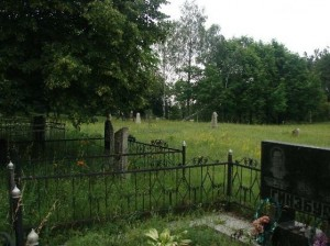 Kaniv Jewish cemetery. Photo by Lo-Tishkach project