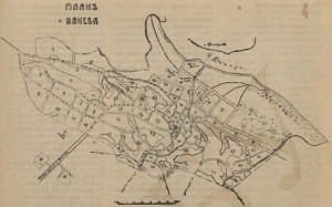 Kanev map by 1913