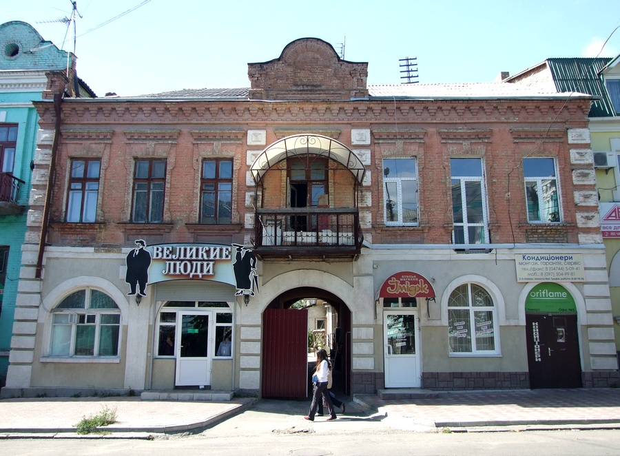 House of Rabbi. Oktyabrskoi Revolucii str., 14