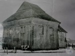 "Wooden synagogue ""New"" in Polonnoe. Photo by P.Zholtovskiy 1928"