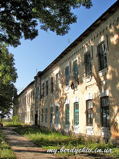 "Building where ghetto was existing. Photograph by <a href=""http://my.berdichev.in.ua"">my.berdichev.in.ua</a>"