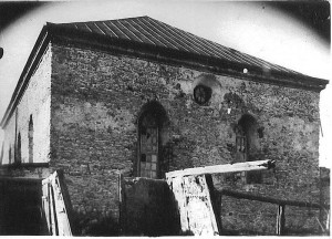 Big Synagogue in Medzhibozh at 1935