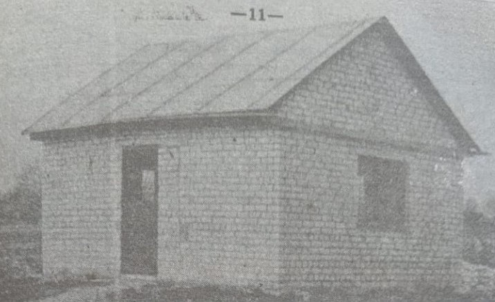 Restored ohel, 1990. Photo was taken from the book of D.Goshkis.