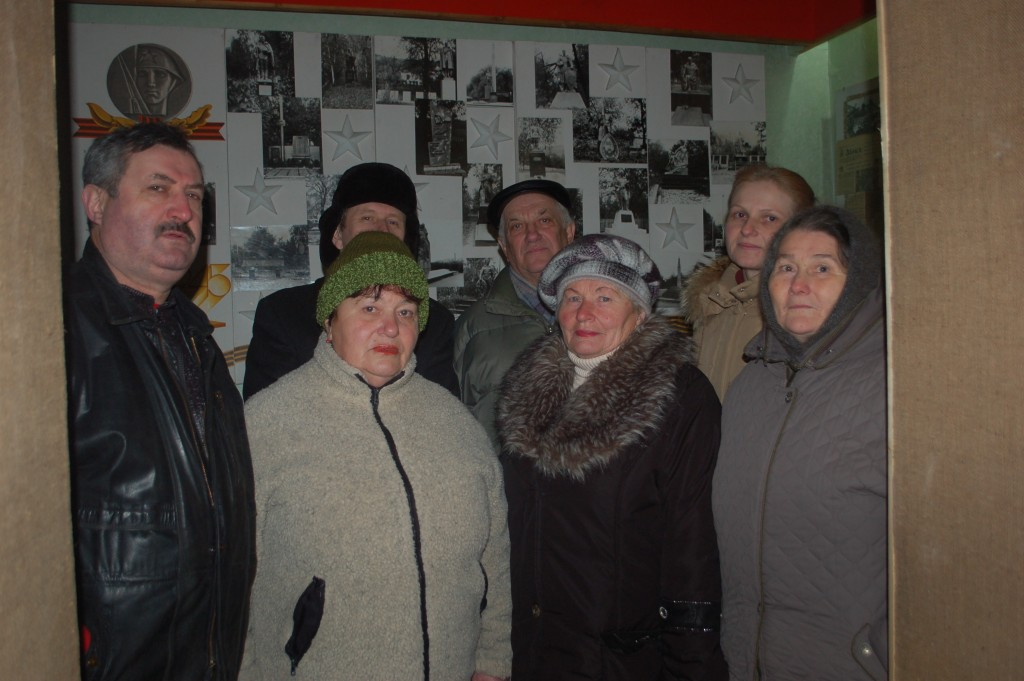 Members of Boguslav Jewish community in local museum