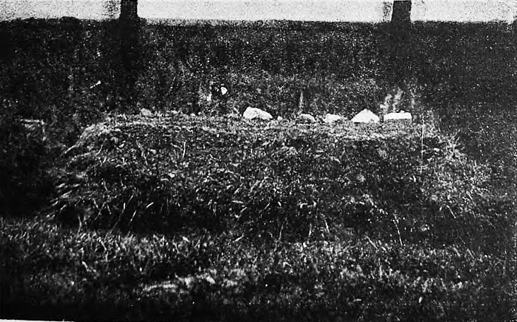 Mass grave of pogrom victims on Skvira Jewish cemetery. Photo beginning of 1920's
