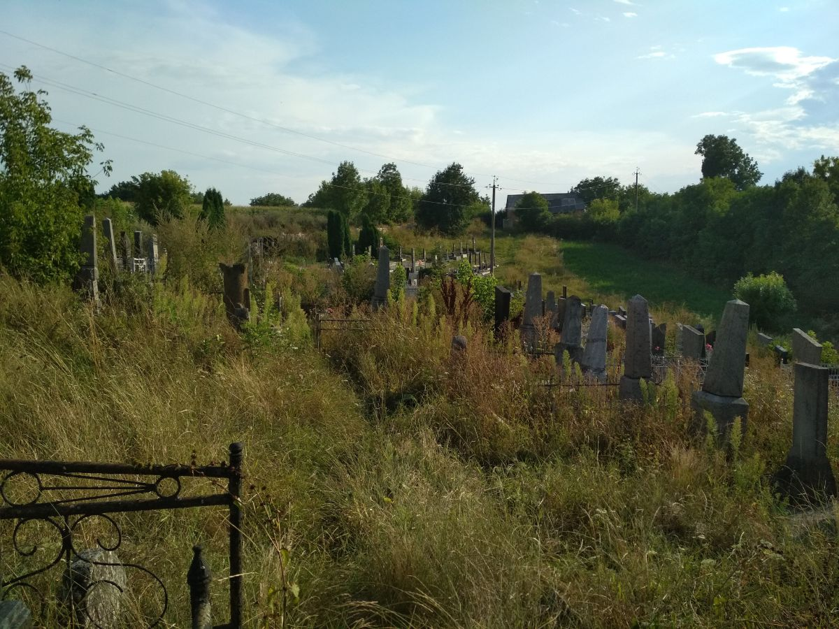 New part of the cemetery