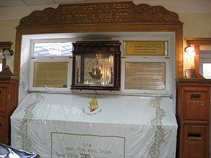 Grave of Rabbi Nahman. Modern photo