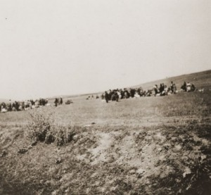 Jews from Kamanets-Podolsk at the murder site