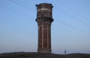 Water tower which is stay here more than 80 years