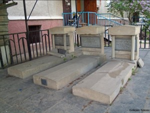 Graves of Friedman family which were renovated in 2007. Photo from galiciantraces.com