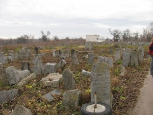 Old part of the cemetery