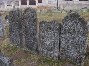 Graves on Medzhibozh old Jewish Cemetery