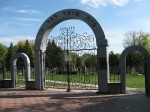 Gate of New Cemetery