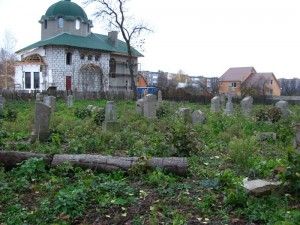 Oldest part of cemetery
