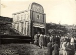 Memorial service at the mine during the 1960s