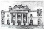 Big Choral Synagogue. Engraving of XIX century