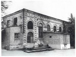 Hasidim synagogue. Beginning of 1990th