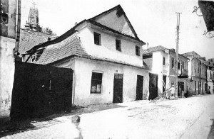 The Manor house belonging to Genendel Shmulevna Sadigurskaya. Photo from 1924