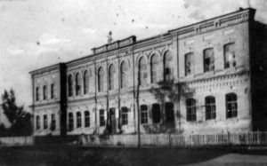 School building in Borzna