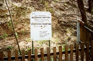 Mass grave in 1994