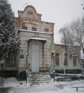Building of Brodskiy Hospital 1902