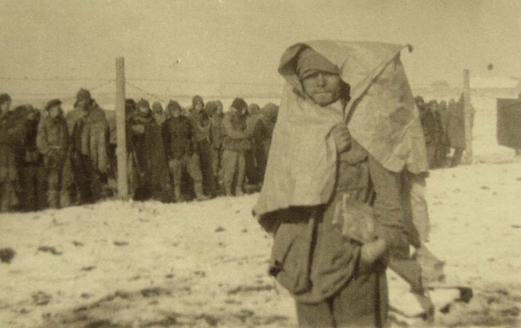 Soviet POWs in Shepetovka camp