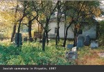 House of cemetery keeper in 1997 by Miriam Wainer