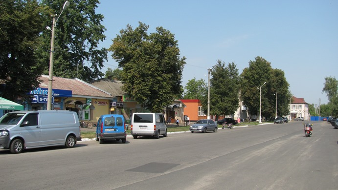 Center of Piryatin in 2015