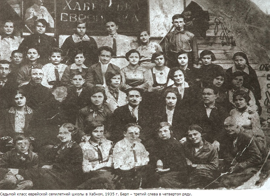 Pupils of Jewish school, 1935