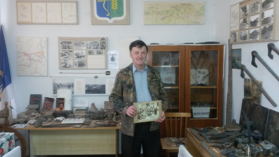 All information for this article was provided by the Head of the local museum - Valeriy Obuhovskiy