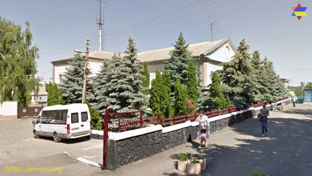 Building of the synagogue in Fastov. Now it is a local Police. Photo from Google Maps