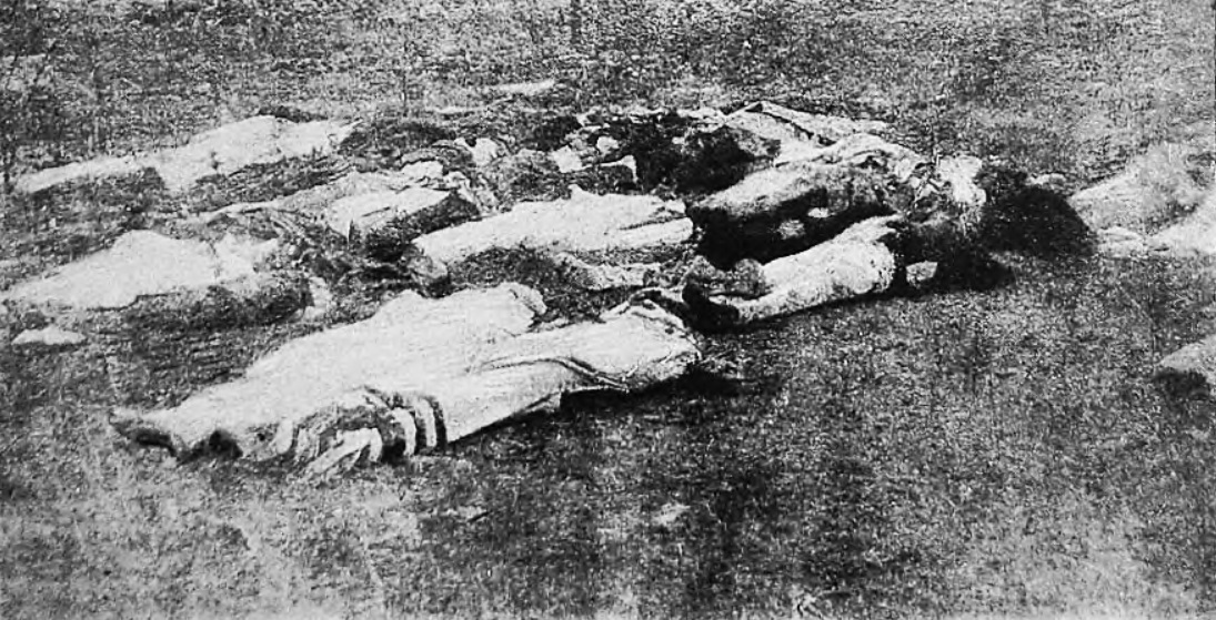 Victims of Denikin's pogrom. September 1919