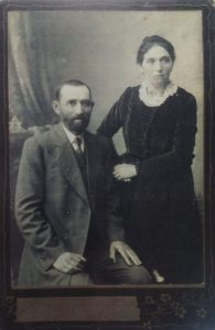 Itsik Stolyar with wife, 1902