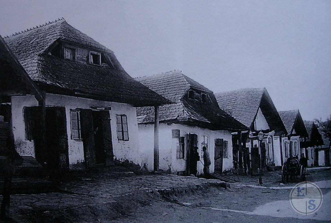 "Street of Smotrich in 1930. Photo by S. Taranushenko. Digital copy was taken from <a href=""http://myshtetl.org/khmelnitskaja/smotrich.html"">myshtetl.org</a>"