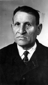 Leib-Peisah Kopelevich Petrushanskiy, head of unofficial Korsun Jewish community in post-WWII period