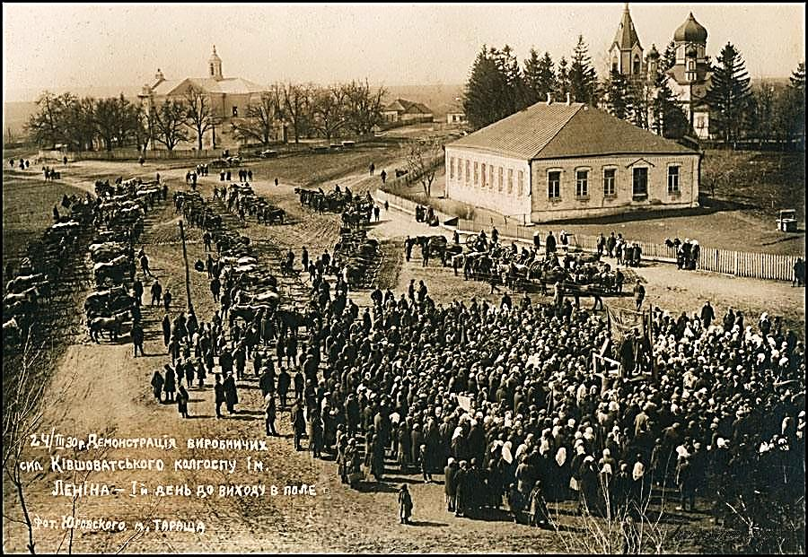 Public meeting in the Kovshevatoe, 1930