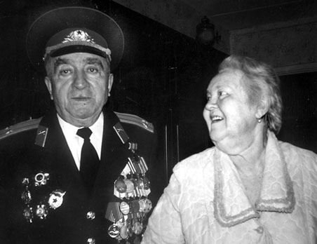 Leonid Maliar (1925-2013) with his wife