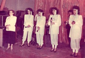 "Choir ""Lechaim"" in 1990"