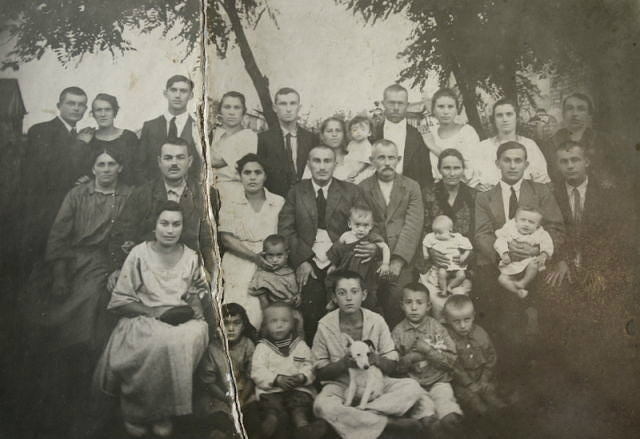 Begelfer family in Horodyshche, 1922