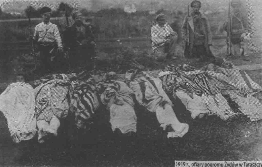 Pogrom victims in Tarashcha, 1919